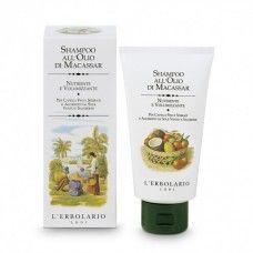 Makasszar-olajos dúsító sampon - Rendeld meg online! Lerbolario Naturkozmetikumok http://lerbolario-naturkozmetikumok.hu/kategoriak/hajapolas/samponok