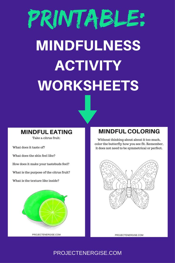 mindfulness worksheet An aim of mindfulness is to allow yourself to consider the whole of your  experience, without excluding anything  mindfulness thus aims to shift one's  focus of attention away from thinking to simply observing  values & goals  worksheet.