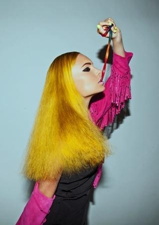 Hair by Roxanne and Zucci creative team.