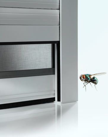 Insektenschutz dank Fenster mit Insektenschutzgitter