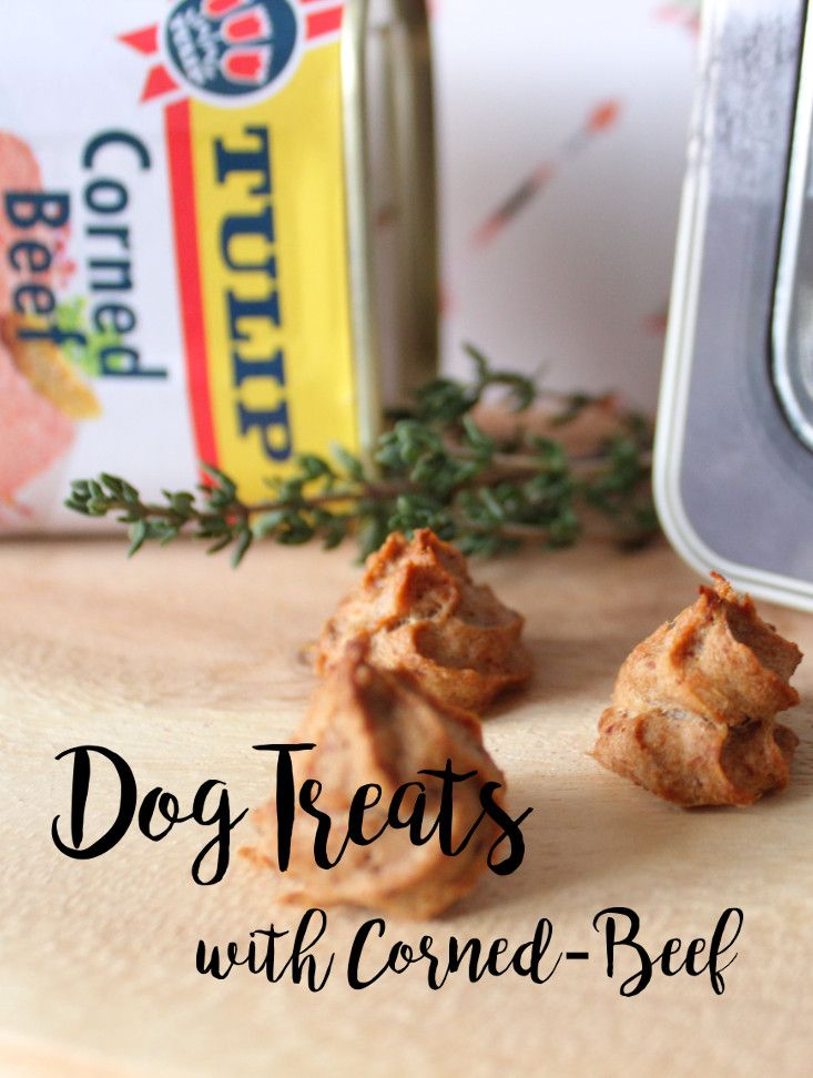 #Treats out of Corned-Beef...recipe for your #dog