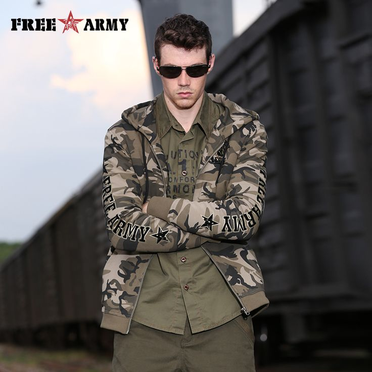 Find More Jackets Information about Brand Winter Men Jackets Warm Hooded Camouflage Jackets Men Casual Jackets Coats Thick Velvet Military Jacket Hip Hop Ms 6073B,High Quality jacket military,China casual jacket Suppliers, Cheap jacket casual from Free Army Boutique store on Aliexpress.com