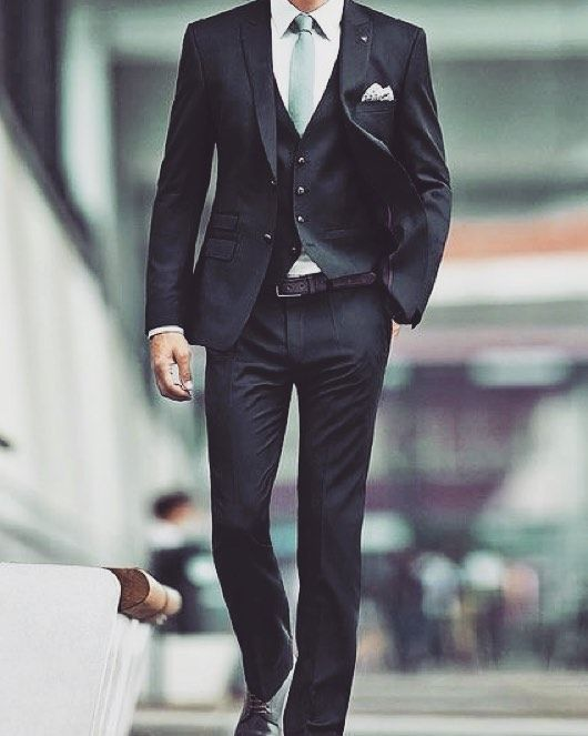 A little Pinterest inspo first thing this morning three piece suit by pitstop_menswear