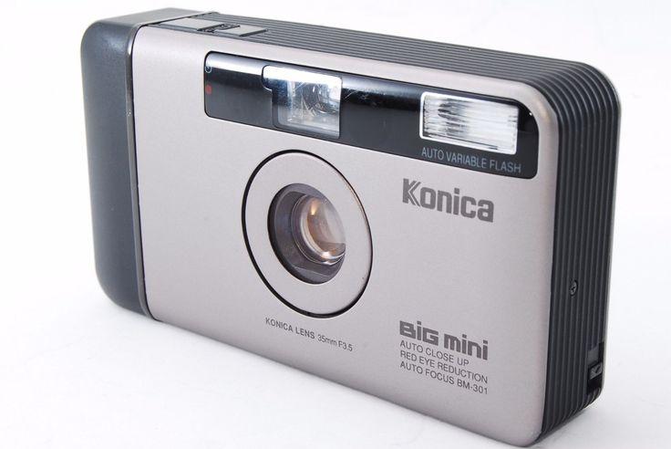 KONICA BIG mini BM301 35mm F/3.5 lens Excellent++ Compact Film Camera from Japan