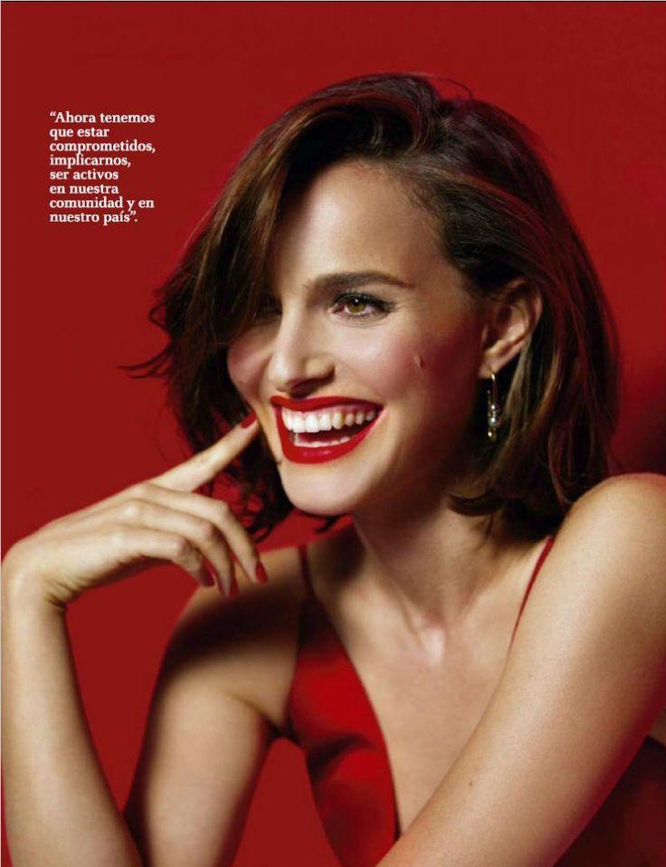 Natalie Portman #NataliePortman Fotogramas February 2017 Celebstills N Natalie Portman