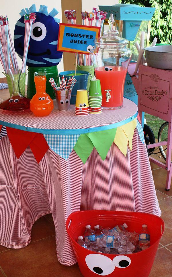 Monster Themed Birthday Party via Karas Party Ideas | KarasPartyIdeas.com #monster #birthday #party #ideas