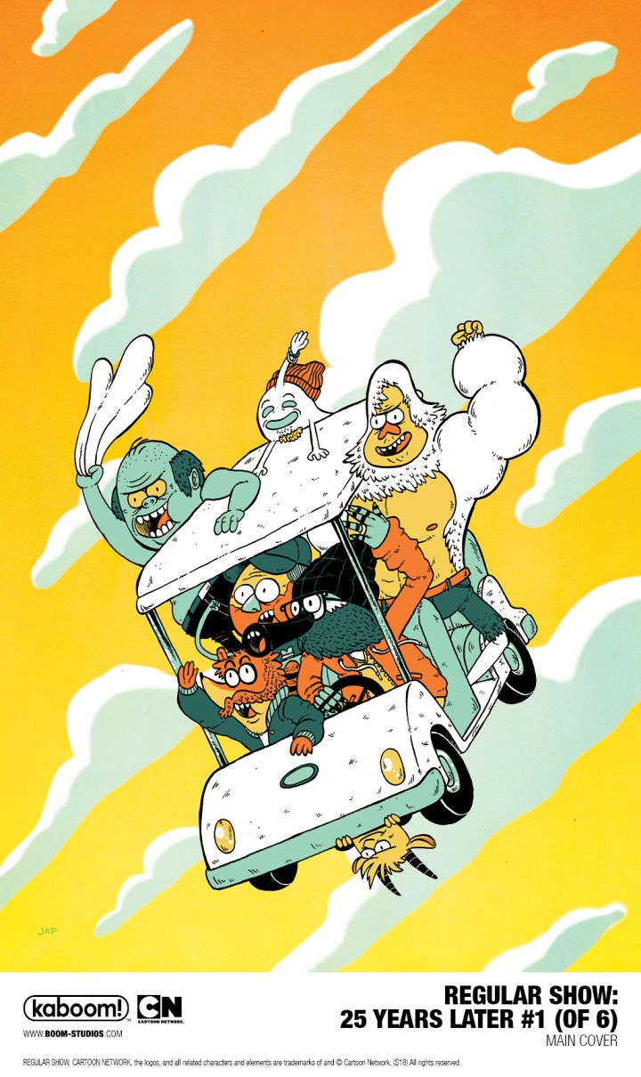 Regular Show Jumps 25 Years Into the Future in New Comic Regular Show is coming back via a new comic book series set 25 years after the series finale. BOOM! Studios and Cartoon Network have teamed up for a six-issue limited comic book series titled Regular Show: 25 Years Later. The comic from writerChristopher Hastings and artist Anna Johnstone will follow an older Mordecai Rigby and the rest 25 years into the future. The Regular Show: 25 Years Later Issue #1 image via BOOM! Studios…