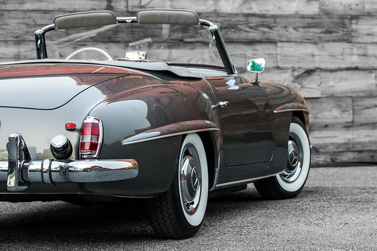 1960 Mercedes-Benz 190SL Maintenance/restoration of old/vintage vehicles: the material for new cogs/casters/gears/pads could be cast polyamide which I (Cast polyamide) can produce. My contact: tatjana.alic@windowslive.com