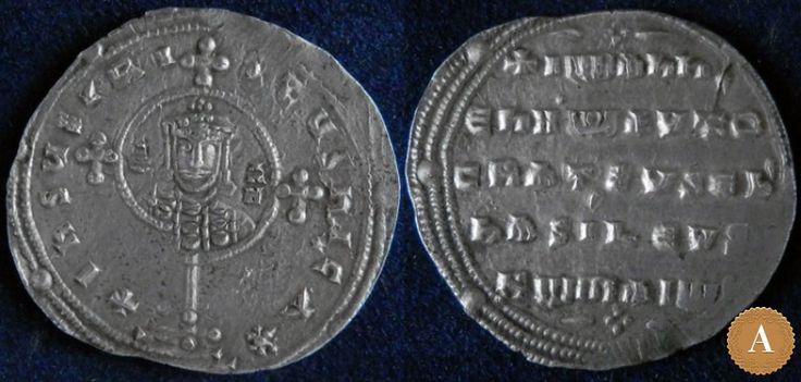 Византийская империя, Иоанн I Цимисхий, 969-976 годы, милиарисий. | ANDREY PYATYGIN ANCIENT COINS | Магазины | Антикварус