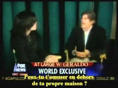 Michael Jackson interview Géraldo Rivera 2005 sous titres francais  PART 2