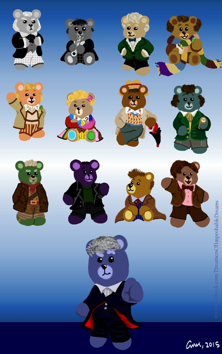The Teddy Bear Doctors!  Created by ~*Don't Blink*~
