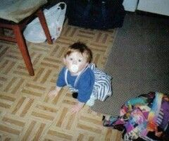 One does not simply scroll past a baby picture of Niall Horan and not repin it.