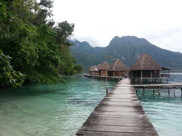 ora eco resort maluku indonesia