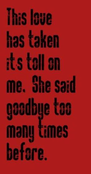 relationship lyrics and songs