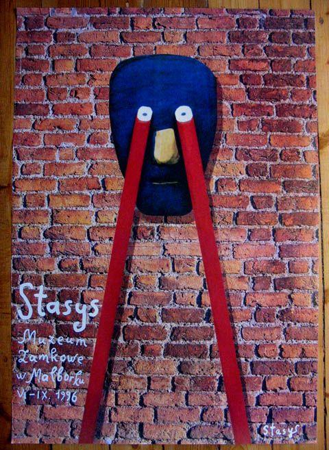 Stasys Eidrigevicius, Muzeum Zamkowe w Malborku, ORIGINAL - 1996