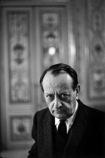 André Malraux, Paris - 1968. Henri Cartier-Bresson