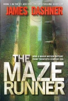 The maze runner- A boy wakes up in an enclosed space with a group of boys and he doesn't remember how he got there or even his own name. The only way out is through a maze that changes every night. They have to get out, but why are they in there to begin with?