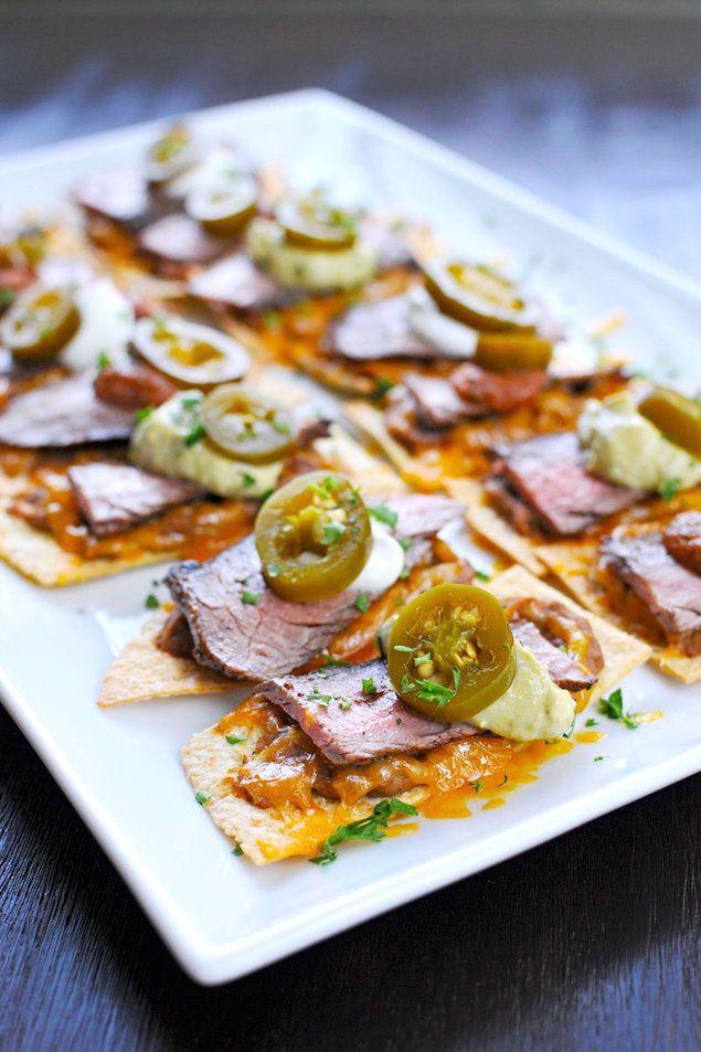 Carne Asada Nacho Appetizers