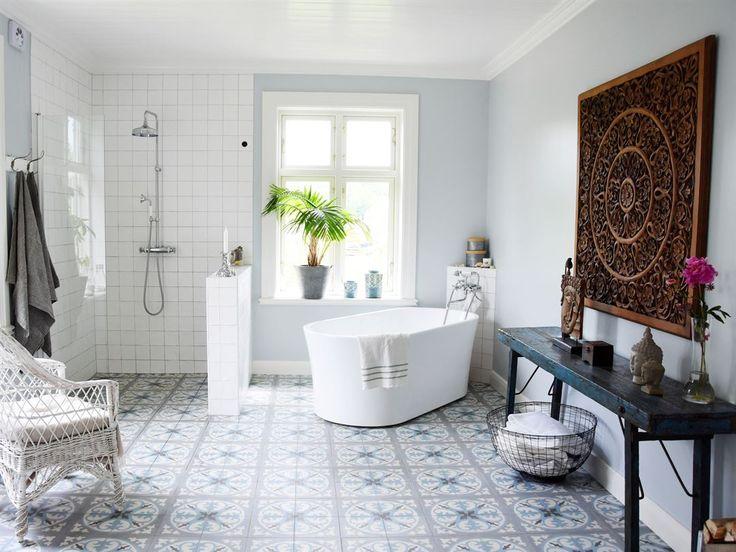 50 best salle de bains - rétro & vintage images on pinterest ... - Salle De Bains Vintage