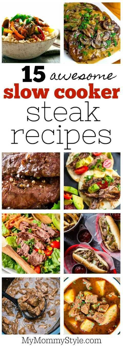slow cooker steak recipes