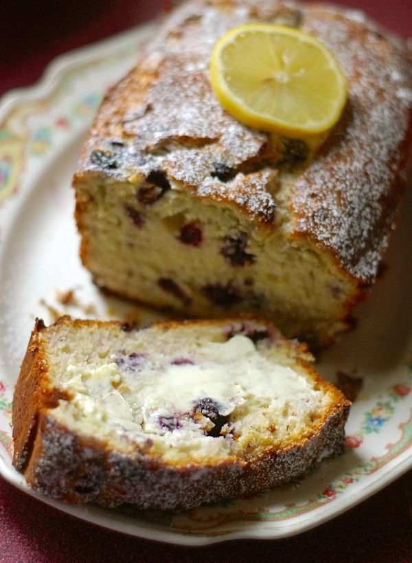 blueberry lemon cream cheese bread | ChinDeep