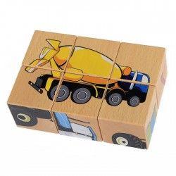 Kolejna drewniana układanka dla dzieci od lat 2.  Pilch 110170 - Układanka Maszyny, 6 klocków sześcianów z obrazkami. Na każdej ścianie klocka znajduje się element innego obrazka.  Ile obrazów można ułozyć za pomocą układaki?   #pilch #drewnianaukladanka #pilch110170 #ukladankazdrewna #drewnianeukladanki   #zabawki  #drewnianezabawki
