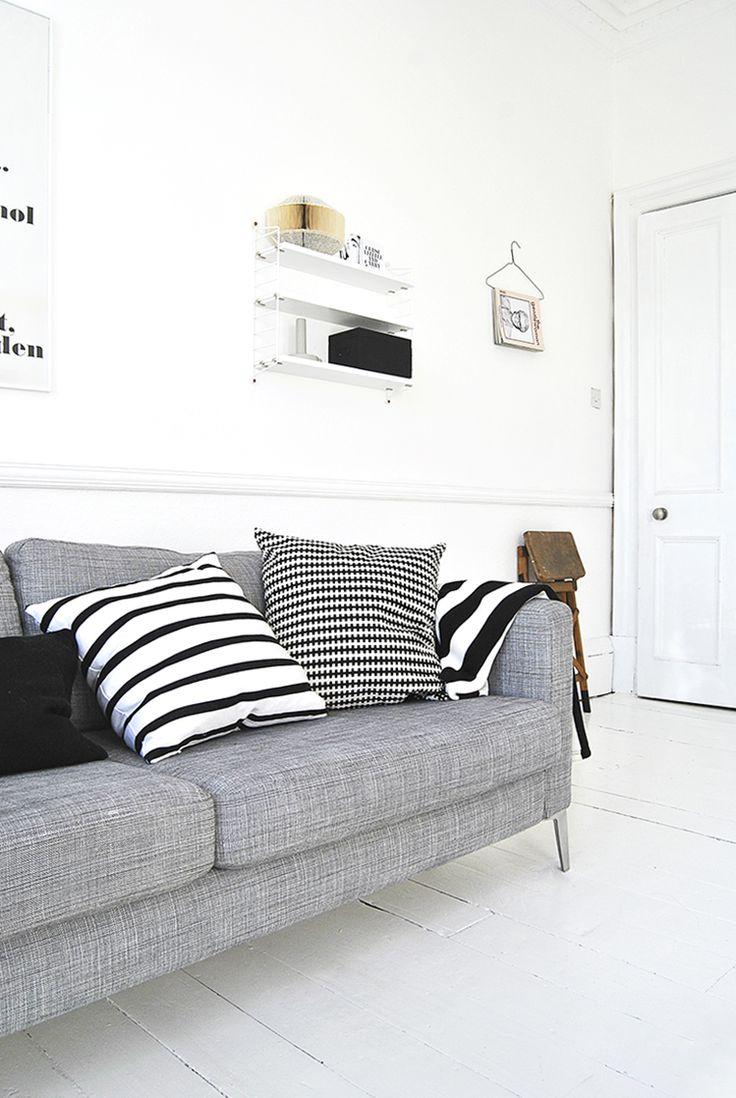 Grey Karlstad with tweaked legs  ollie&sebs Haus  http://ollieandsebshaus.co.uk/2013/02/book-art/