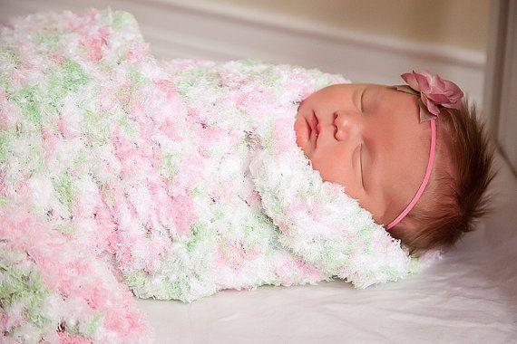Crochet Blanket For Baby Girl