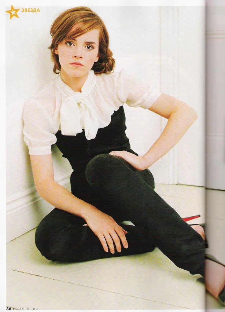 elle girl magazine | Emma Watson