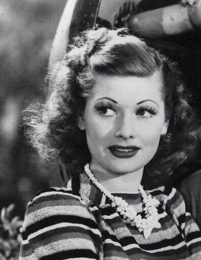 "Lucille Ball in ""Five Came Back"" (1939)."
