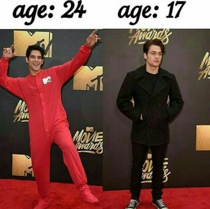 Honestly I think the ages should be swapped around