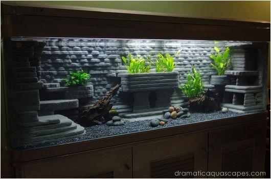 Aquarium, Aquarium backgrounds and DIY fashion on Pinterest