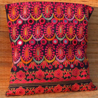 Kutch Embroidered Cushion