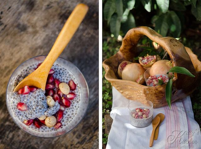 pudding semi di chia e melograno by Elisakitty's Kitchen,