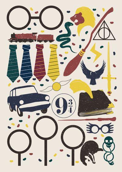 Harry Potter Art Print