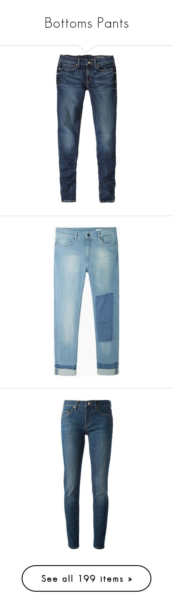 """""""Bottoms Pants"""" by girlwithherheadintheclouds ❤ liked on Polyvore featuring jeans, pants, super skinny jeans, zipper skinny jeans, tall skinny jeans, mid rise jeans, petite skinny jeans, bottoms, denim and cuff jeans"""