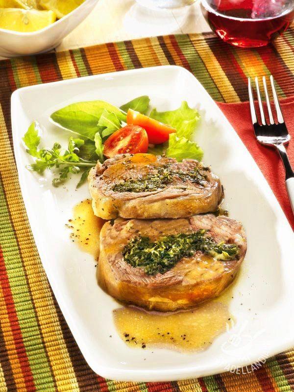 Spalla d'agnello con farcia verde - Antipasti / Impasti Carni bianche e Coniglio