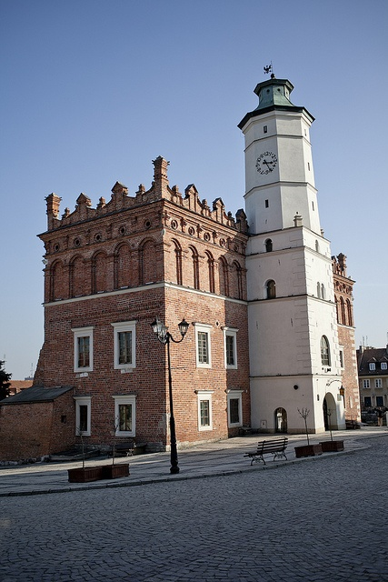 Town Hall, Sandomierz, Poland - Explore the World with Travel Nerd Nici, one Country at a Time. http://TravelNerdNici.com
