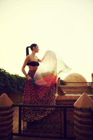 #Kookai Spring Summer 'Arabesque' Collection