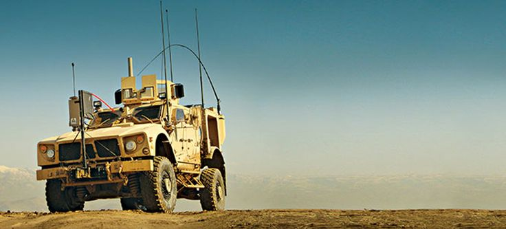 Oshkosh M-ATV Is The Next War Machine Going To Battle Without A Driver