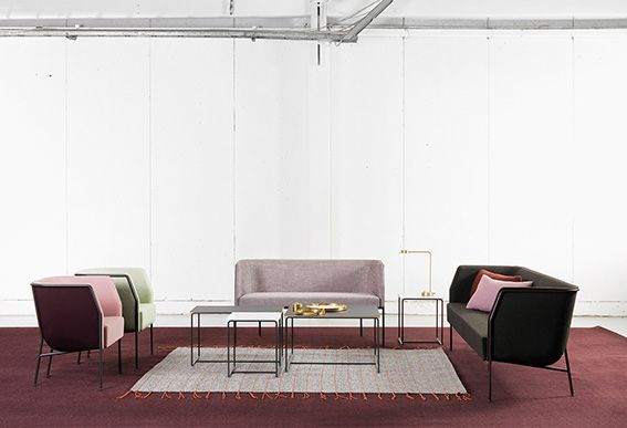 For Stockholm Furniture Fair 2016 Lammhults Introduces Cajal- a series allowing the user to build their own characteristic constellations. Design: Gunilla Allard