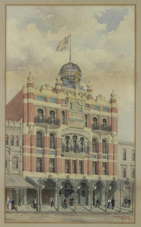 The Opera House [Bourke Street Melbourne] [picture]/ William Pitt., State Library of Victoria