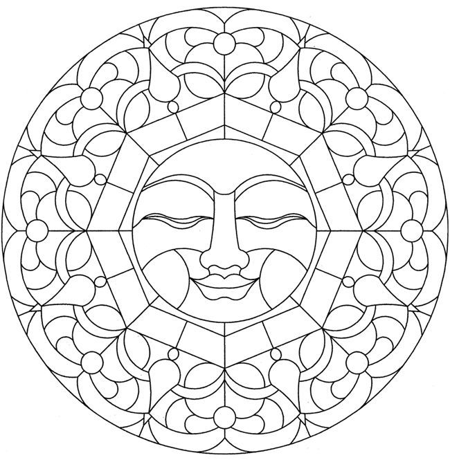 25 Best Ideas About Sun Mandala On Pinterest Mandala Sun Moon Mandala Coloring