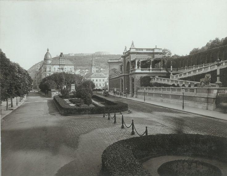 Ybl Miklos ter 1896-ban.   forras: BTM Kiscelli Muzeum /tajepiteszek.hu