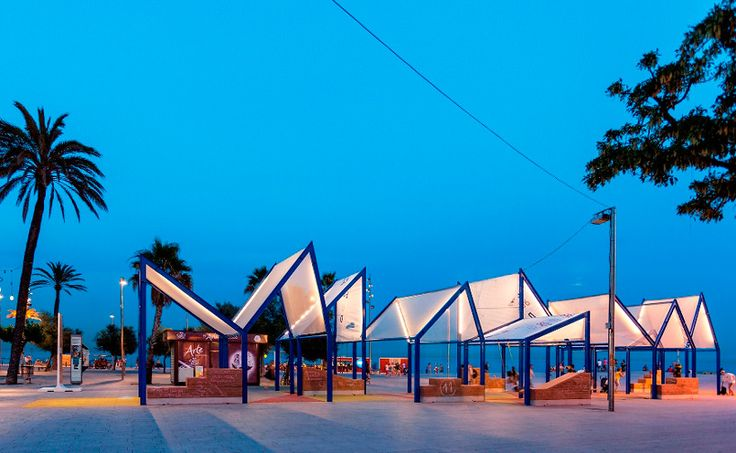 urban-think tank designs xarranca pavilion on barcelona beachfront - designboom   architecture