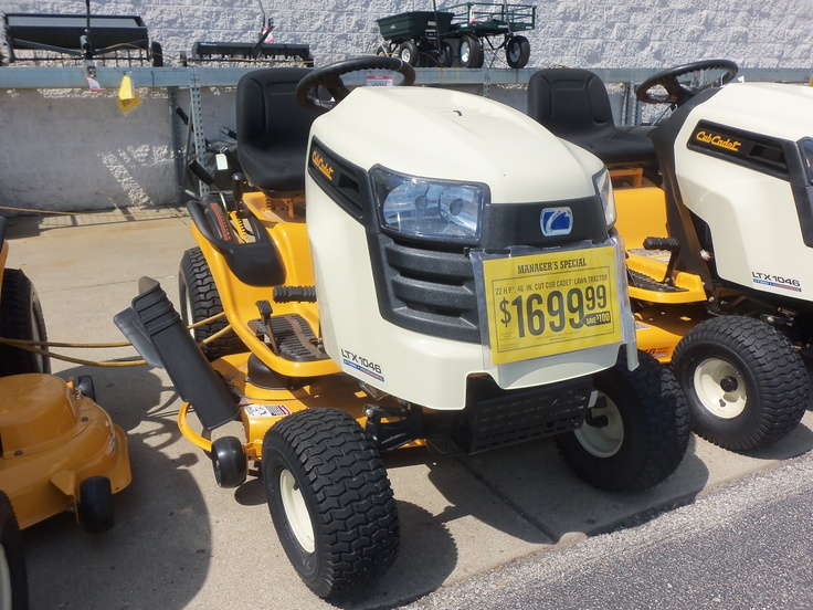 cub cadet ltx 1046m pictures to pin on pinterest
