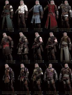 the witcher 2 characters - Google Search
