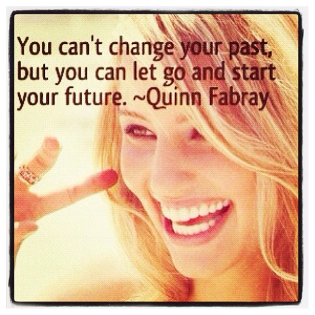 You Can't Change Your Past (Quinn Fabray - Glee)