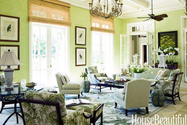 12 Stilvolle Ideen zur Verwendung von grüner Farbe in jedem Innenraum