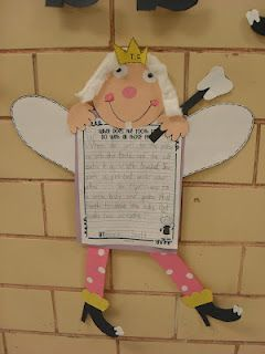What does the tooth fairy do with all those teeth?- so cute for 2nd grade writing. I bet their ideas would be so funny!